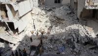 Halepteki tek çocuk doktoru Rus saldırılarında dün öldü