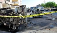 2 kamyonet çarpıştı: 1 ölü, 1 yaralı