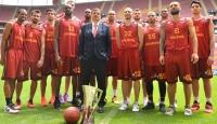 Galatasaray Odeabanktan şampiyonluk pozu