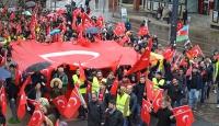 Almanyada teröre karşı birlik yürüyüşü