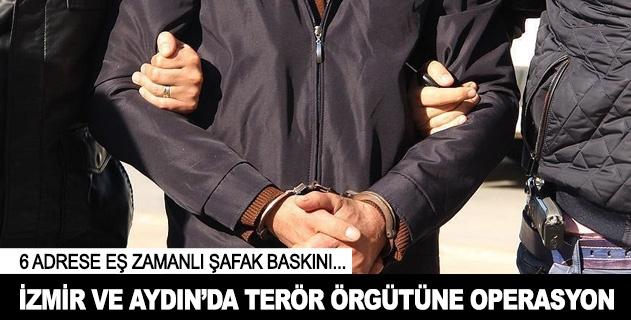 İzmir ve Aydında terör operasyonu