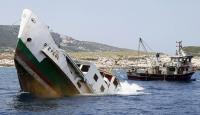 İzmirde 40 yıllık vapur dalış turizmi için batırıldı