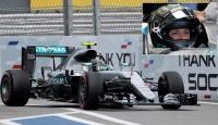 Rusya Grand Prixde pole pozisyonu Rosbergin