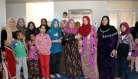 Suriyeli dul ve yetimler konukevinde ağırlanıyor