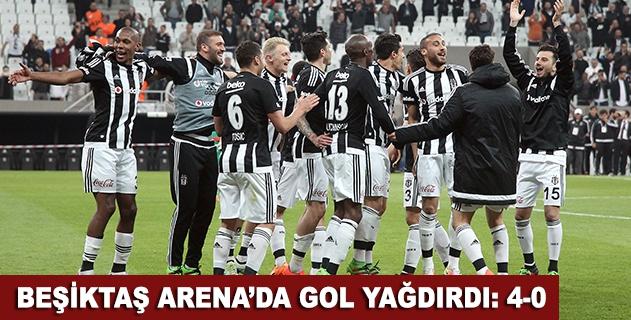 Beşiktaş Arenada gol yağdırdı