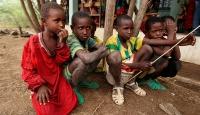 Etiyopyada 42 çocuk kurtarıldı