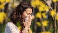 Bahar ile birlikte gelen alerjiye dikkat