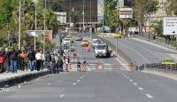 Taksim Meydanına çıkan bazı yollar trafiğe kapatıldı