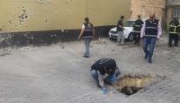 Kilise Suriyeden iki roket mermisi atıldı