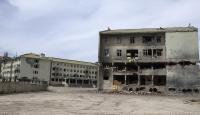 PKKnın yaktığı lisedeki tahribat ortaya çıktı