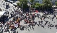 1 Mayıs Ankarada kutlandı