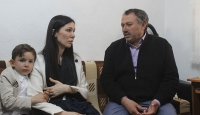 AK Parti Genel Başkan Yardımcısı Karaaslandan şehit ailesine ziyaret