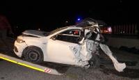 Afyonkarahisarda trafik kazası: 4 ölü, 1 yaralı