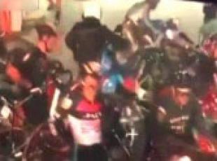 Bisiklet yarışını katletti