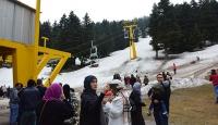 Arap turistler Uludağdan vazgeçemiyor