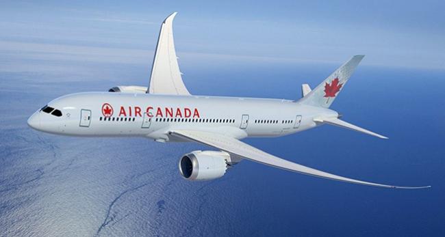 Air Canada, B-787 Dreamliner ile İstanbula uçtu