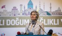 Sare Davutoğlu: Sağlıklı yaşam, sağlıklı gebelik ve doğumla başlar