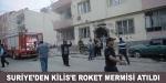 Kilise roket mermisi atıldı