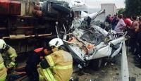 İzmirde zincirleme trafik kazası