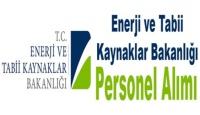 Enerji ve Tabi Kaynaklar Bakanlığı personel alacak