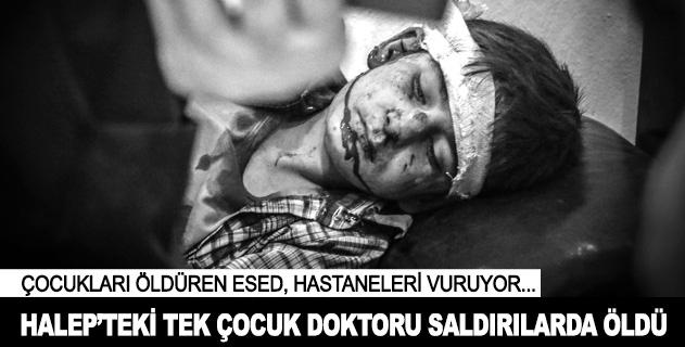 Esed Halepin masum çocuklarını doktorsuz bıraktı