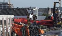 Hollandada vinç kazası: 2 ölü