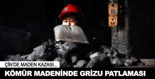 Çinde kömür madeninde patlama: 6 ölü