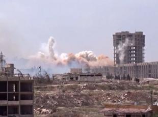 Halepte Esed güçlerine darbe