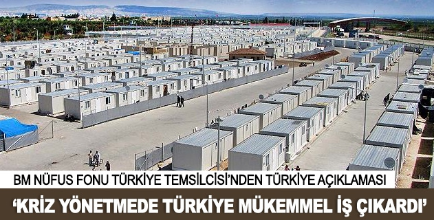 Türkiye mükemmel bir iş çıkarttı
