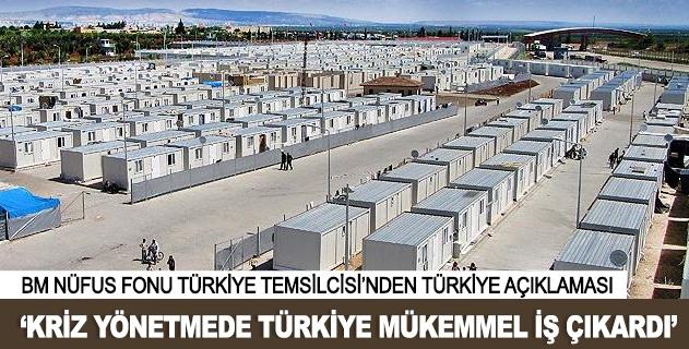 Türkiye mükemmel bir iş çıkarttı