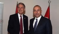 Çavuşoğlu, Hammond ile Suriyedeki gelişmeleri ele aldı