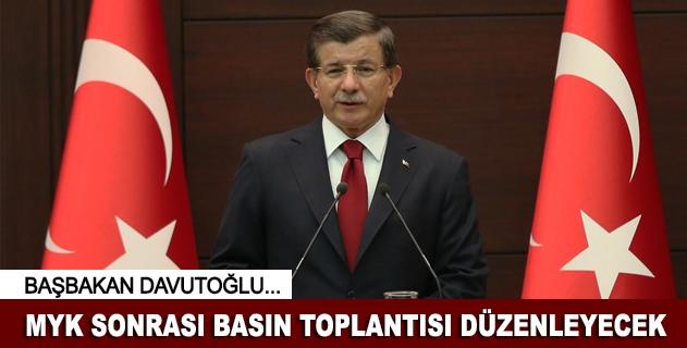 Başbakan Davutoğlu basın toplantısı düzenleyecek