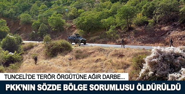 PKKnın Karakoçan sorumlusu etkisiz hale getirildi