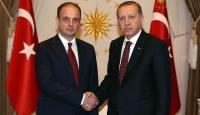 Cumhurbaşkanı Erdoğan, Çetinkayayı kabul etti