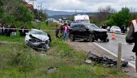 Kastamonuda iki otomobil çarpıştı: 3 ölü, 4 yaralı