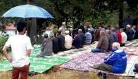 Yağmur duasında yağmura yakalandılar