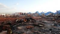 Suriye ordusu çadır kente saldırdı