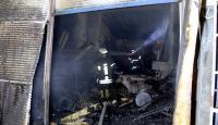 Tarihi Oturakçılar pazarında korkutan yangın