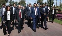 Bakan Çelik ve FAO heyeti, EXPOyu gezdi