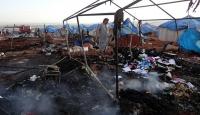 Çadır kente yapılan saldırı savaş suçu
