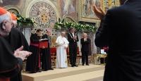 """Papa Franciscusa """"Uluslararası Şarlman Ödülü"""""""