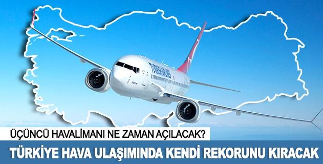 """""""Türkiye, havayollarında 200 milyon yolcuya koşuyor"""""""