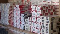495 bin 500 paket kaçak sigara ele geçirildi