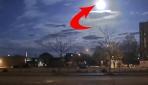 Meteorun düşme anı görüntülendi