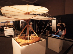 Da Vincinin makineleri Antalyada