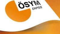 2016-EKPSS sonuçları açıklandı