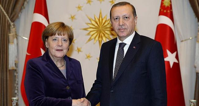 Erdoğan, Merkele kaygılarını iletti