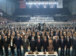 Erdoğandan kongreye mesaj