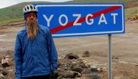 Bisikletiyle dünya turuna çıkan gezgin Yozgatta mola verdi