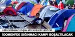 İdomenide sığınmacı kampı boşaltılacak